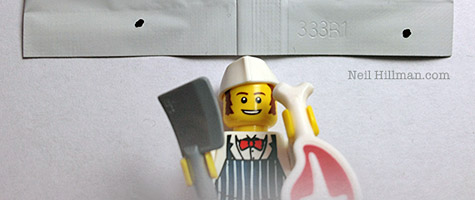 Lego Minifigures Series 6 Butcher bump codes
