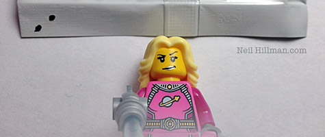 Lego Minifigures Series 6 Intergalactic Girl bump codes
