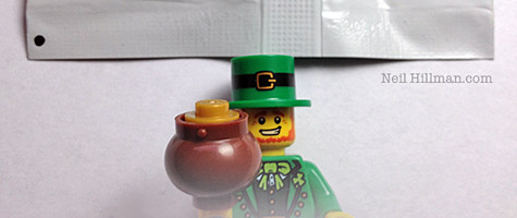 Lego Minifigures Series 6 Leprechaun bump codes