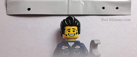 Lego Minifigures Series 6 Mechanic bump codes