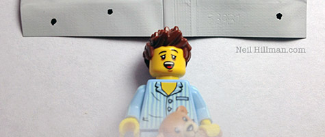 Lego Minifigures Series 6 Sleepyhead bump codes