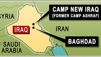 UNHCR graphic depicting Camp Ashraf