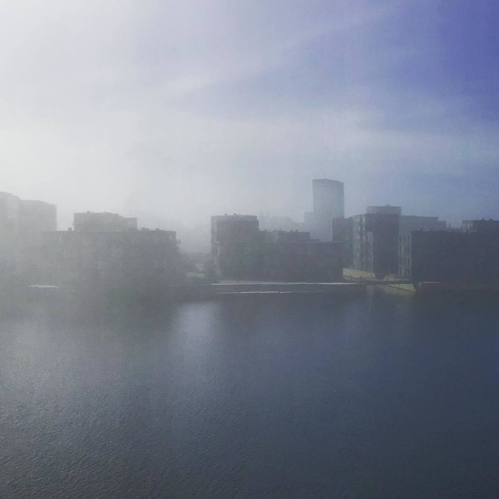Hazy Sunday morning in Copenhagen
