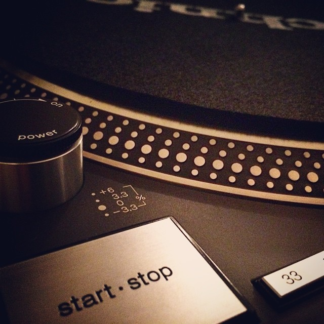 My new toy! ★★★★★★★★★★★★★★★★★★ #technics #1210 #turntables #deejay #birthday #gifts…