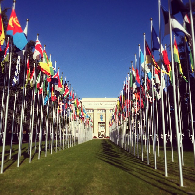 Went to the United Nations offices in Geneva to participate…