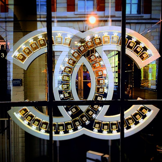 The Chanel shop window in Covent Garden, UK ★★★★★★★★★★★★★★★★★★ #chanel…