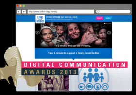 Nominated for a Digital Communications Award