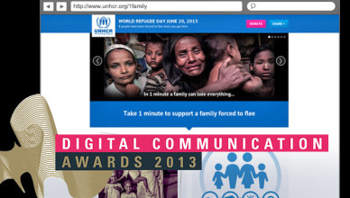 Nominated for Digital Communications Awards 2013