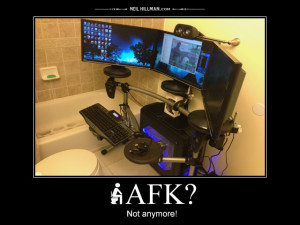 AFK? Not anymore!
