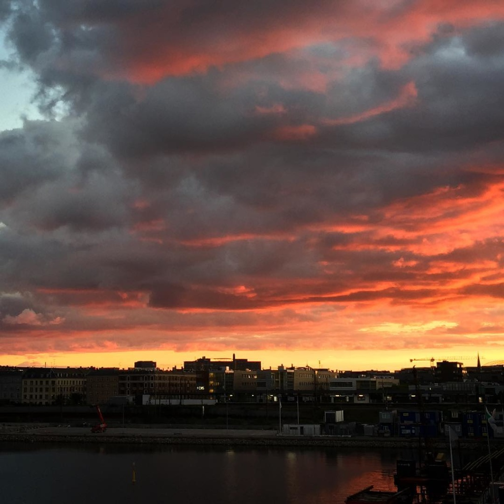 Copenhagen sunsets  no filter! nordhavn sterbro copenhagen sunset nofilterhellip