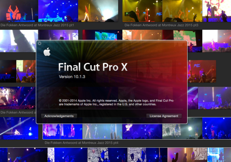 Die Antwoord and Final Cut Pro