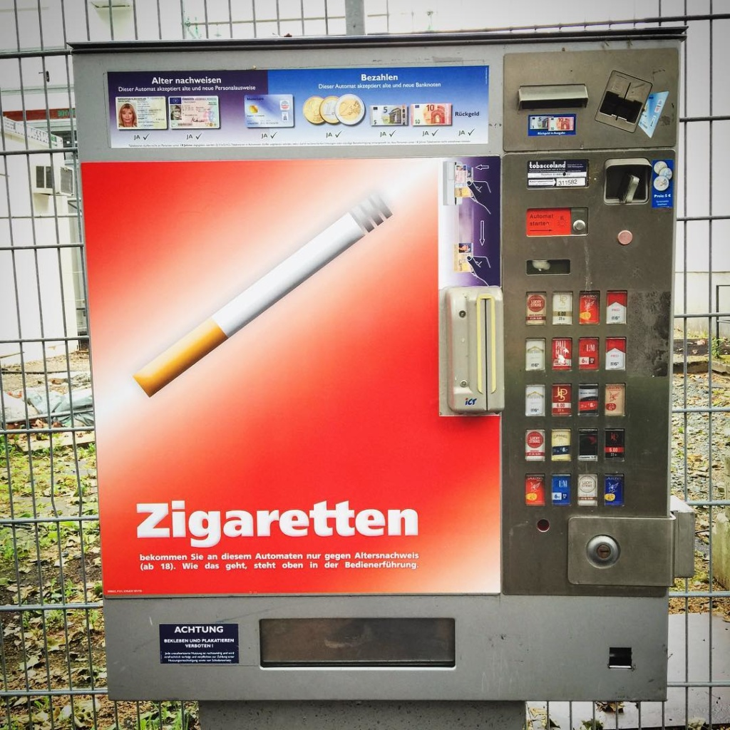 The British ban all tobacco advertising and remove branding fromhellip