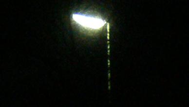 UFO streetlight