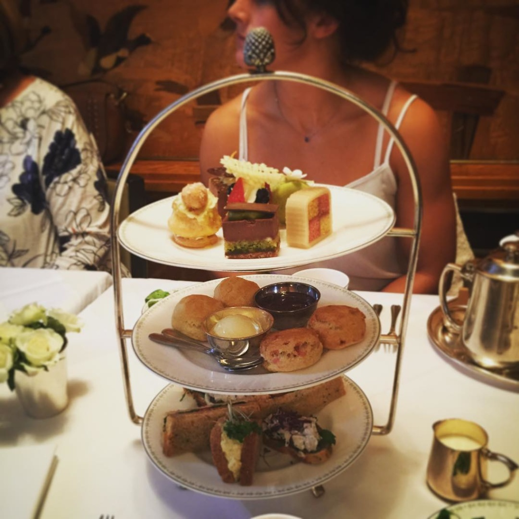 Bettys Afternoon Tea with the Becks family  delicious!
