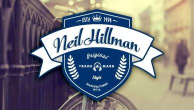 Neil Hillman hipster logo