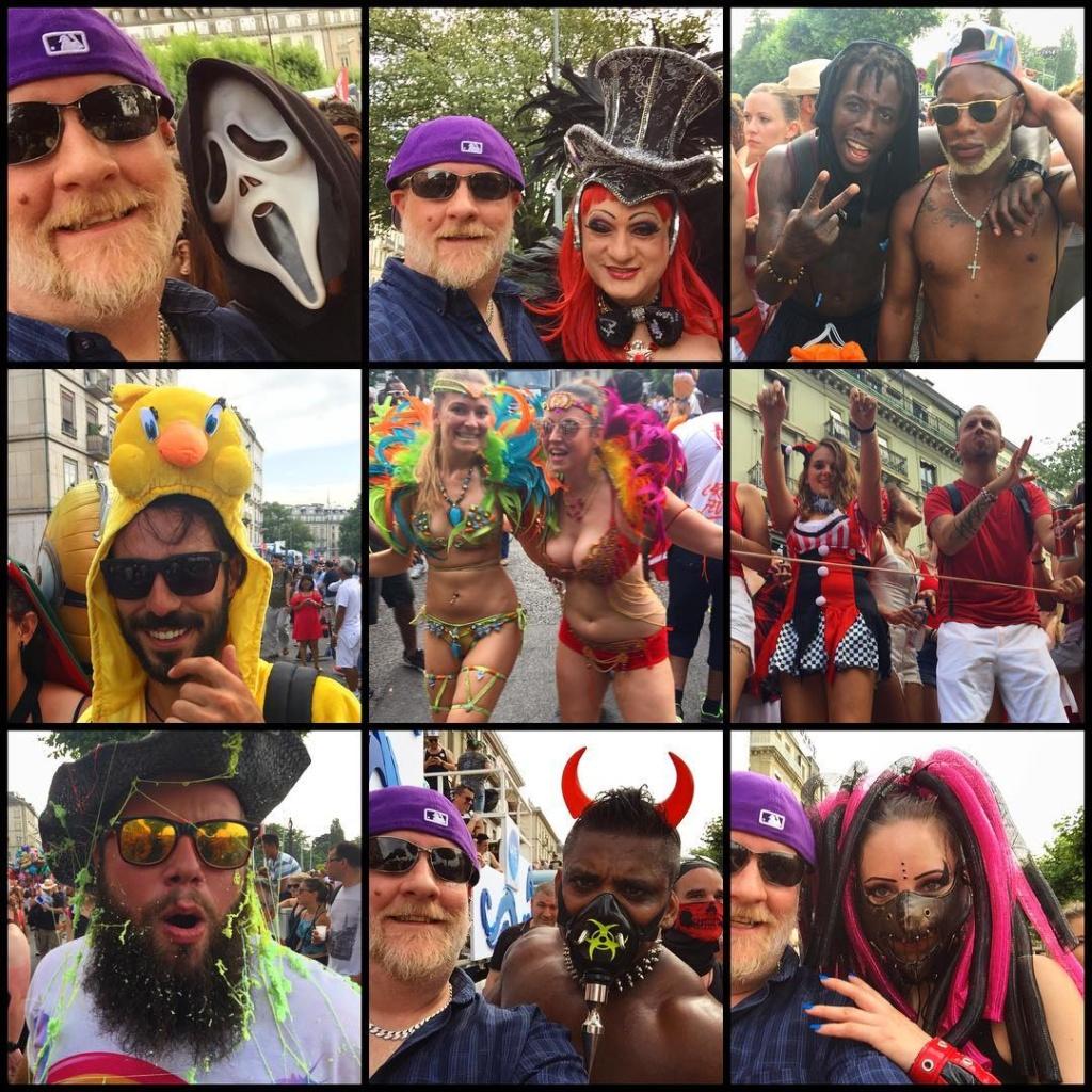 Fun times! genevalakeparade