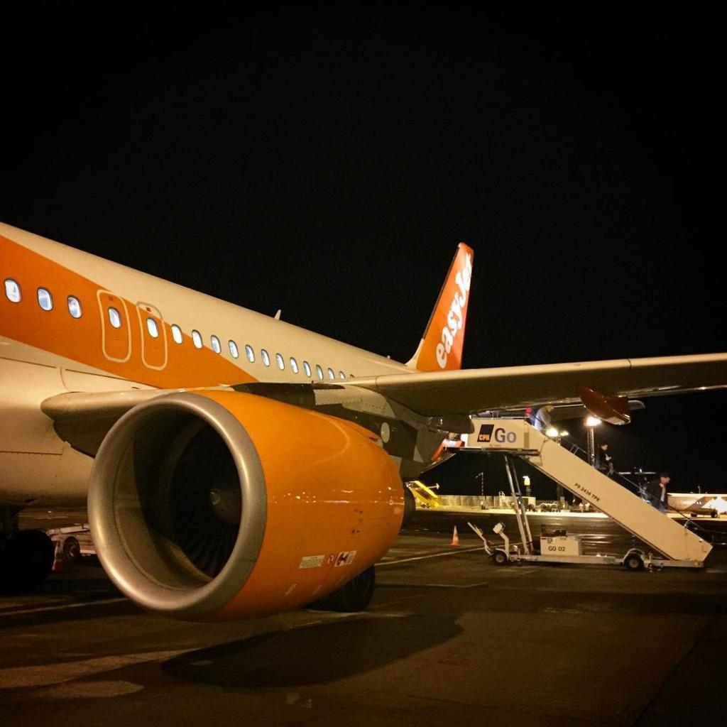 Landed in CPH easyjet A320