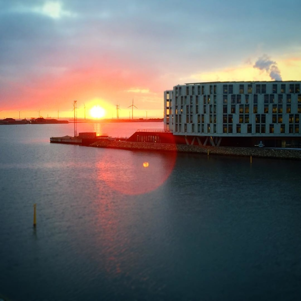 Good morning Copenhagen! nordhavn uncity sunrise