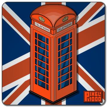 London phonebox pixel art