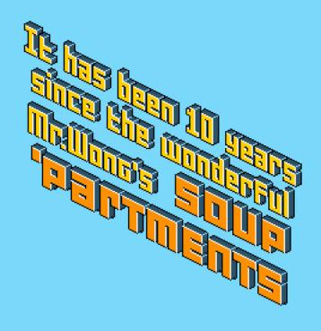 Soup Apartments pixel font